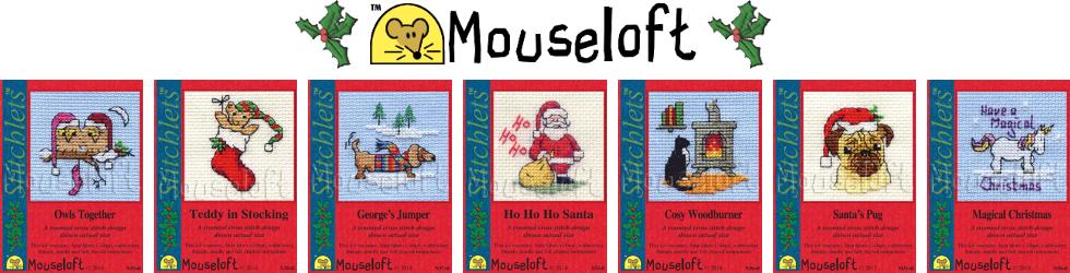 Mouseloft Christmas Stitchlets Banner