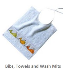 Bibs, Towels & Wash Mitts