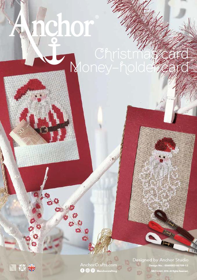 Anchor Christmas Card cross stitch chart