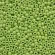 Crayon Seed Beads 02066 - Crayon Yellow Green
