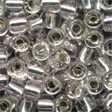 Pebble Glass Beads 05021 - Silver