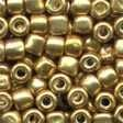 Pebble Glass Beads 05557 - Old Gold