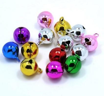8mm Jingle Bells - Pink