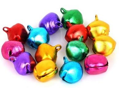 14mm Jingle Bells - Purple