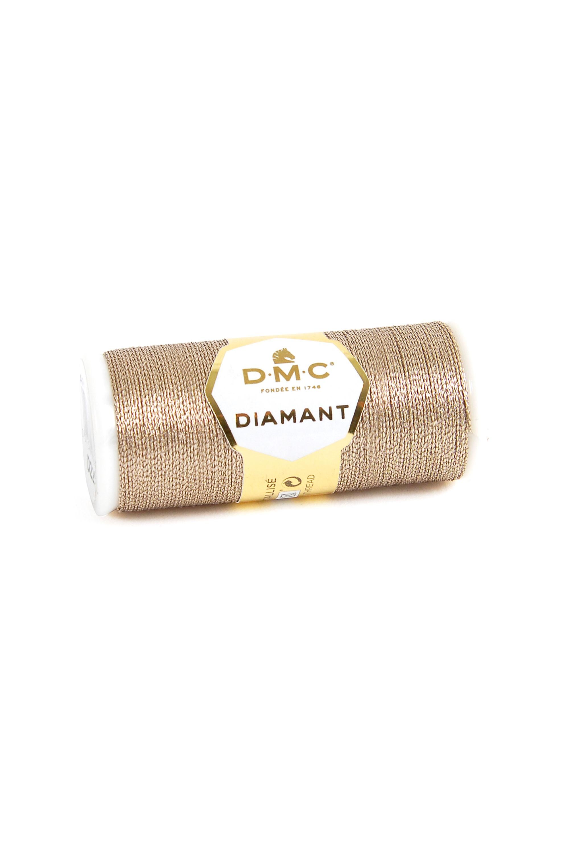 DMC Diamant Metallic Thread - D225 - Antique Rose