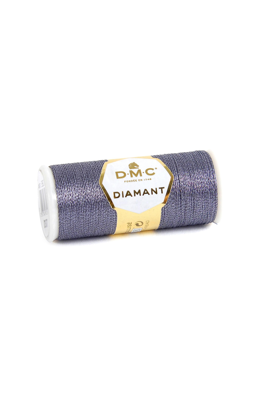 DMC Diamant Metallic Thread - D317 - Grey
