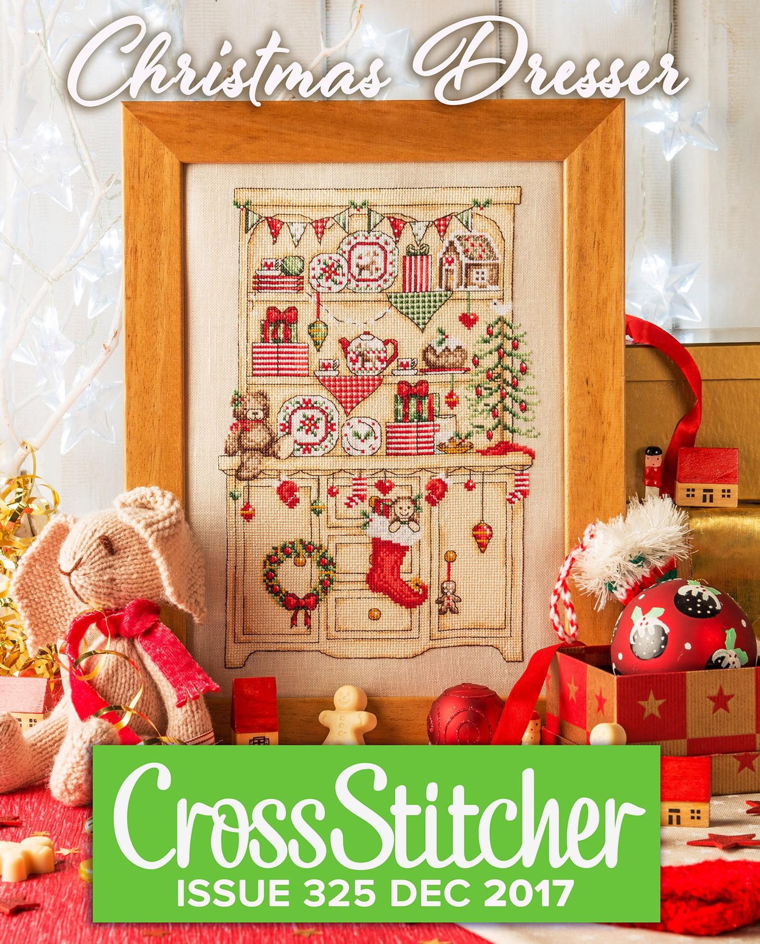 Cross Stitcher Project pack - Christmas Dresser 325