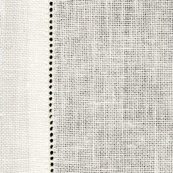 28 Count Cashel White Table Runner 50 x 50cm (19.5 x 19.5in) - Half Metre
