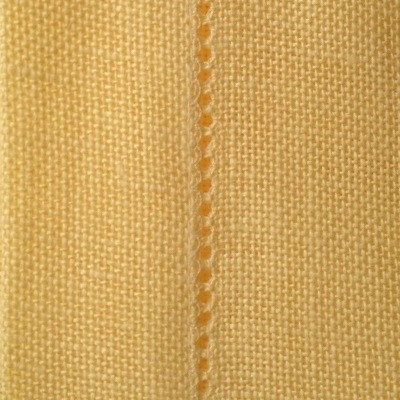 28 Count Cashel Canary Yellow Table Runner 100 x 50cm (39 x 19.5in) - Full Metre