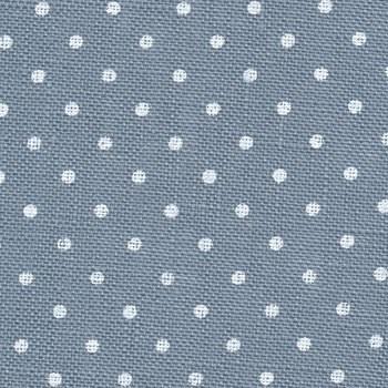 32 Count Belfast Blue & White Dot