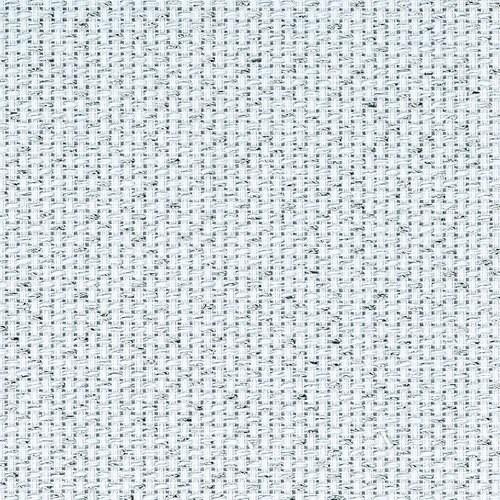 14 Count Aida White/Silver