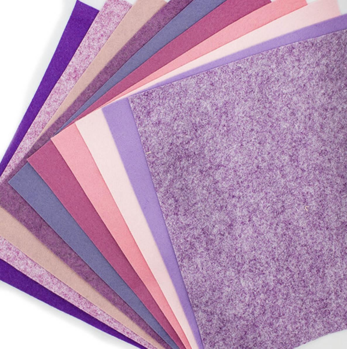 Felt Jelly Roll - Sherbet colours 3