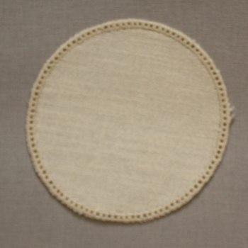 12cm Round Crochet Doilies - Cream 12cm / 5in
