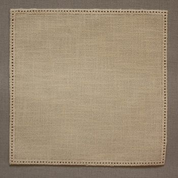 20cm Square Crochet Doilies - Cream 20cm / 7.5in