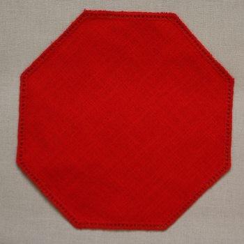 19cm Octagon Crochet Doilies - Buttercup 19cm / 7in