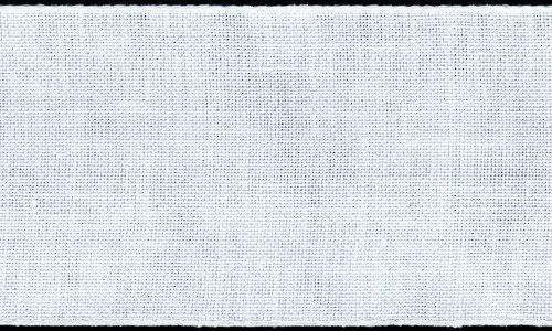 3in / 8cm White Linen Band - 1m