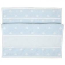 Rico Guest Towel (30 x 50cm) - Blue/White