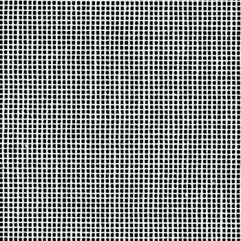 Mono Interlock Canvas White: 18 Hole