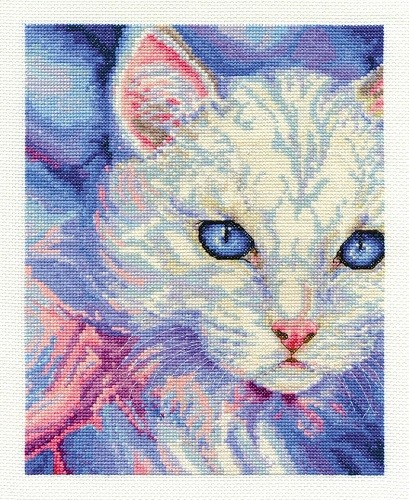 BK1573 - Turkish Angora Cross Stitch Kit