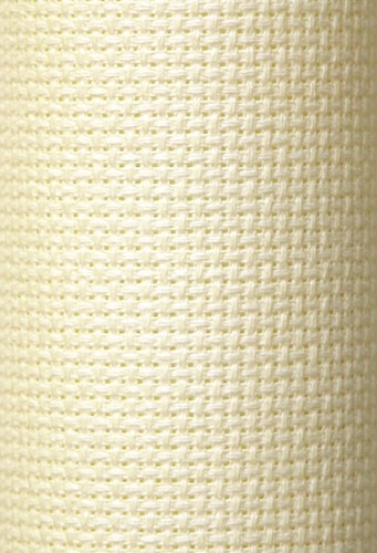 Charles Craft 11 Count Aida Antique White (Light Cream) - 15 x 18in (38 x 45cm)