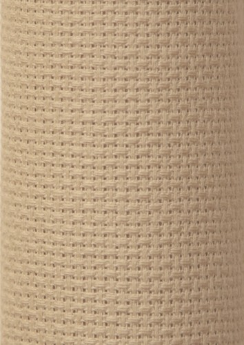 Charles Craft 14 Count Aida Beige - 15 x 18in (38 x 45cm)