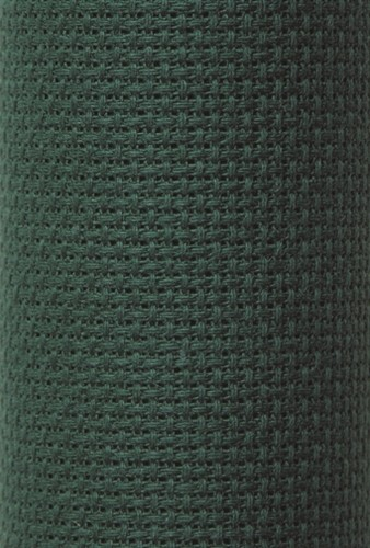 Charles Craft 14 Count Aida Hunter Green - 15 x 18in (38 x 45cm)