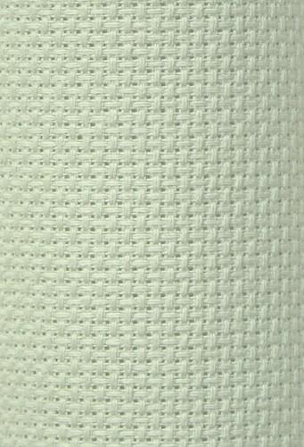 Charles Craft 14 Count Aida Light Sea Foam Green - 15 x 18in (38 x 45cm)