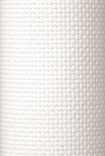 Charles Craft 11 Count Aida White - 15 x 18in (38 x 45cm)