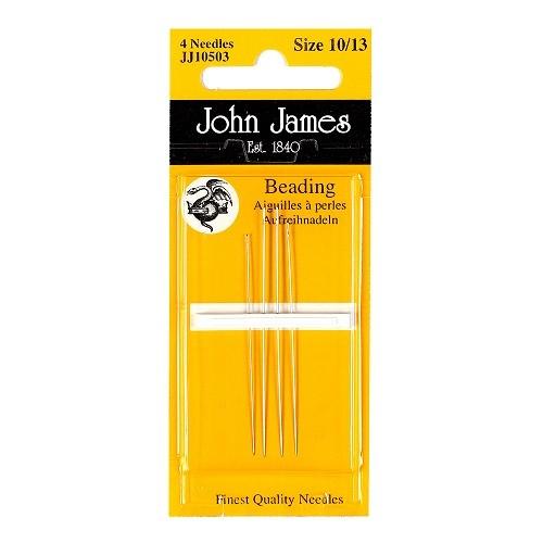 John James Beading Needles - Size 12