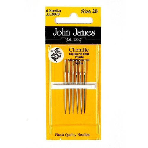 John James Chenille Needles - Size 18/24