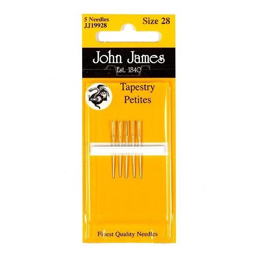 John James Petite Tapestry Needles - Size 22