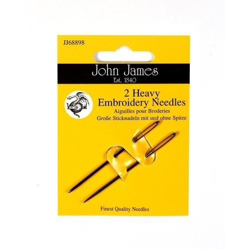 John James Heavy Embroidery Needles - Size 14