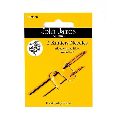 John James Knitters Needles - Size 13/18