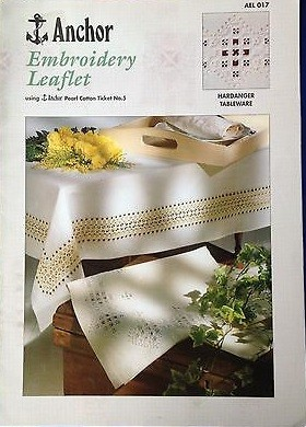 Anchor Embroidery Leaflet - Hardanger Tableware