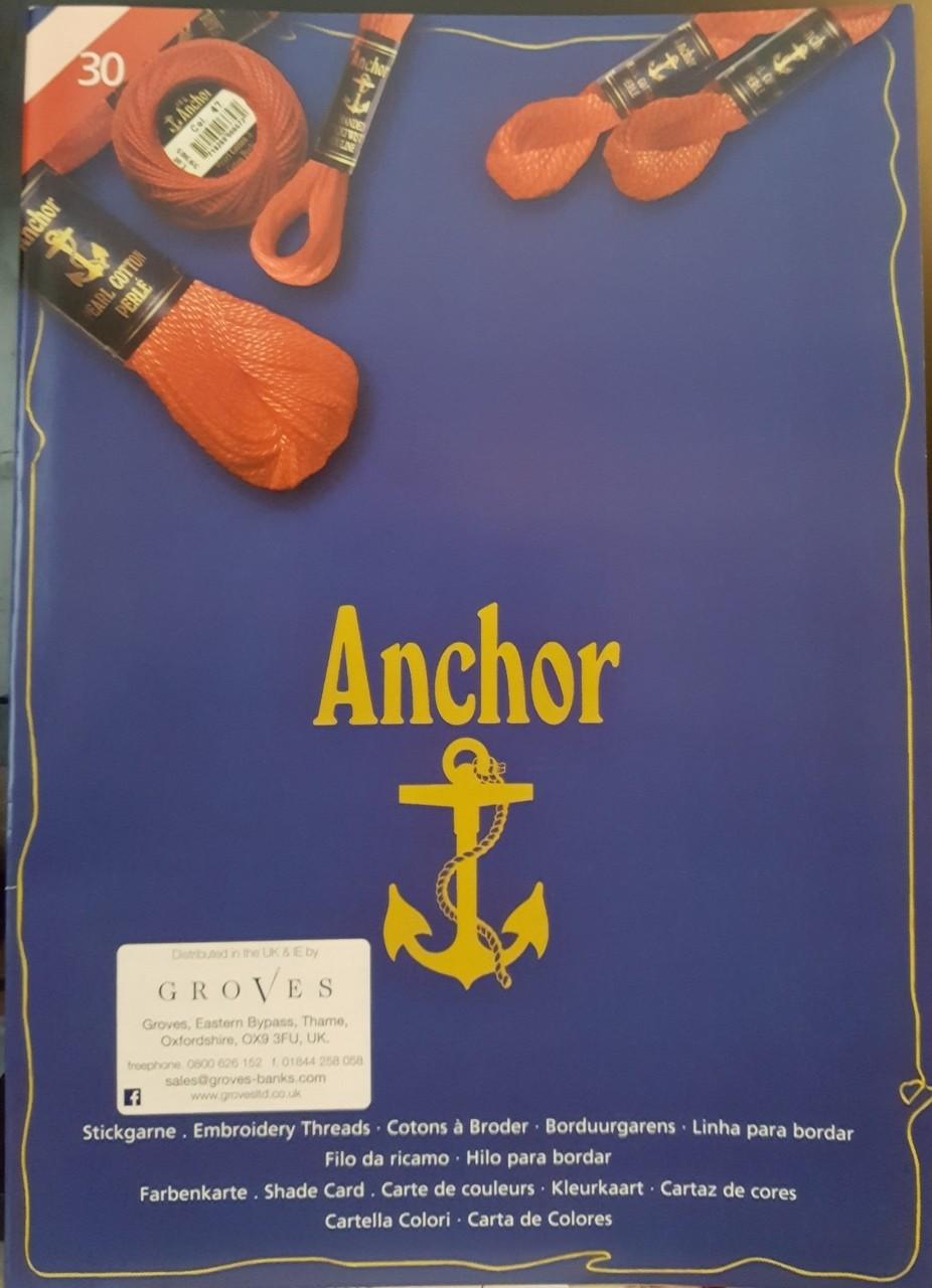 Anchor Perle Shade Card