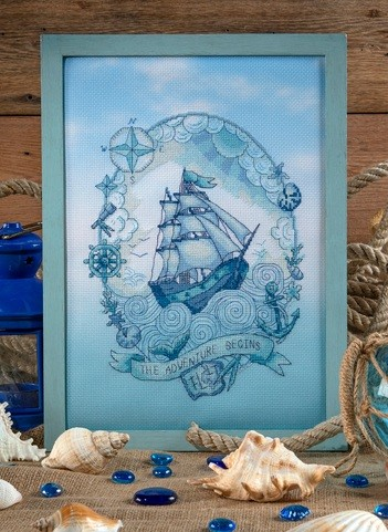 Cross Stitcher Project Pack - Anchors Aweigh! - XST354