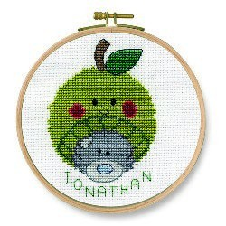 DMC Me to You Apple Beanie Cross Stitch Kit - BK1165/72