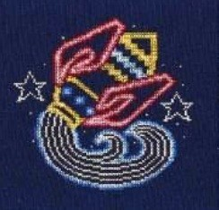 DMC Aquarius Cross Stitch Kit BK1860