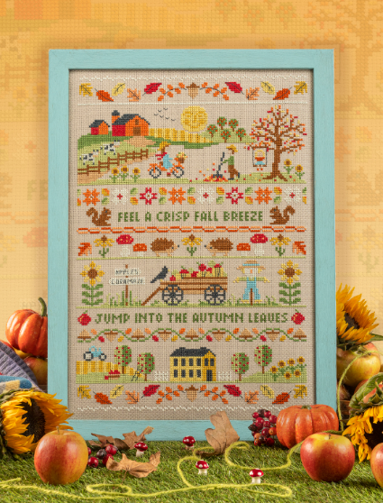 Cross Stitcher Project Pack - Autumn Sampler - XST361