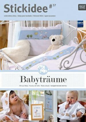 Rico Dream Baby Cross Stitch Booklet