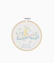 DMC Baby Moon Cross Stitch Kit - BK1835