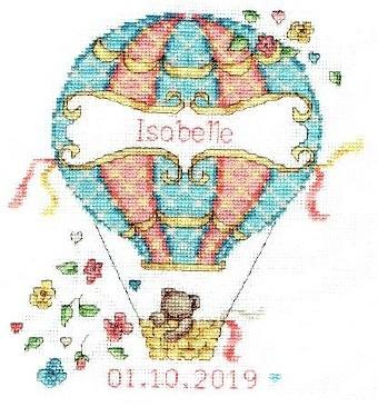 DMC Balloon baby Cross Stitch Kit BK1878