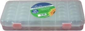 BD811 - Clear Plastic Stacker Jar Storage Box