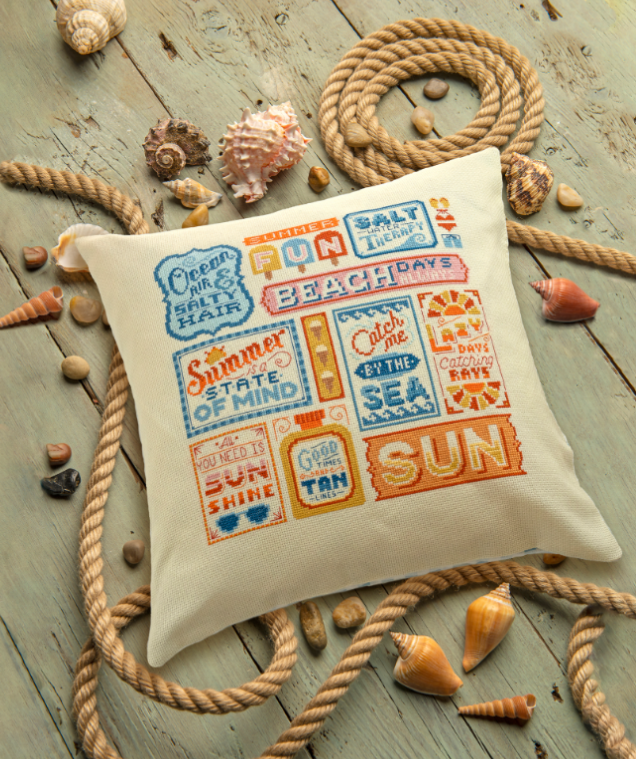 Cross Stitcher Project Pack - Sunshine Dreams - XST357