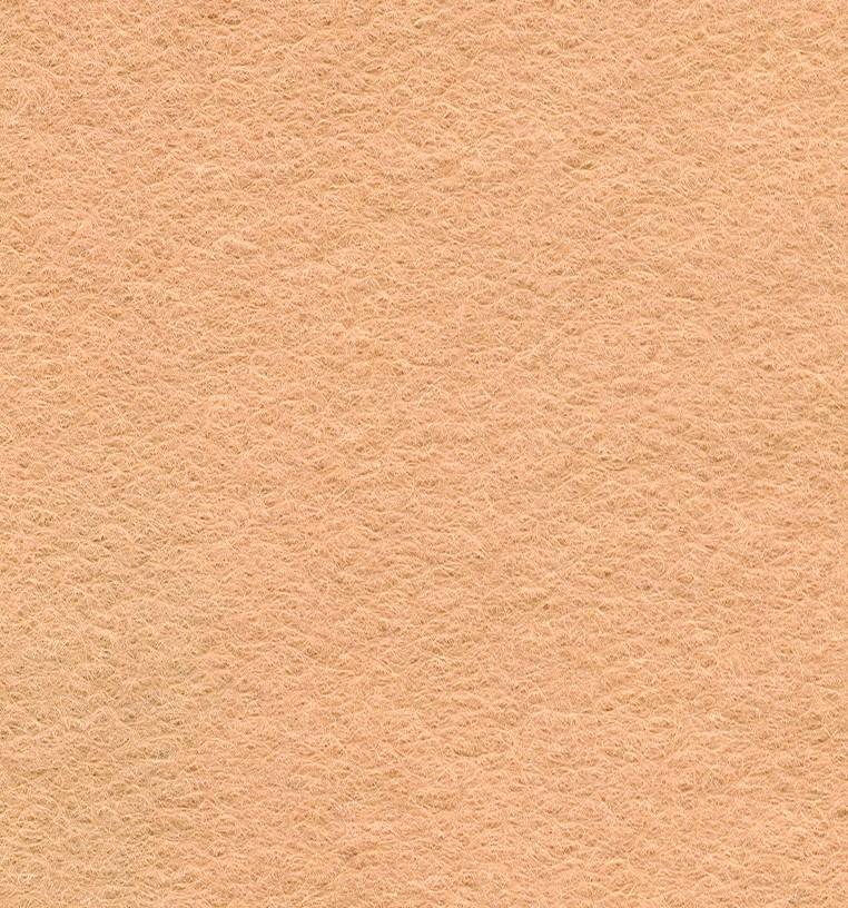 Felt Square Beige 30% Wool - 9in / 22cm