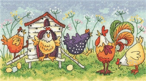 BFHH1297 - Happy Hens