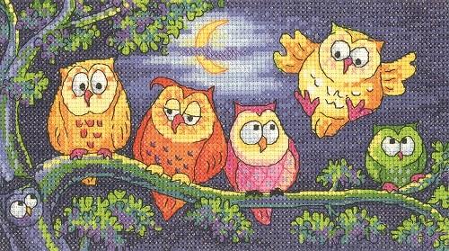 BFHO1296 - A Hoot of Owls