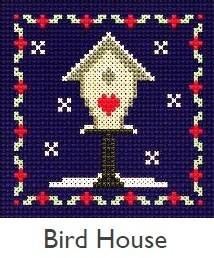 DMC Bird House Cross Stitch Kit