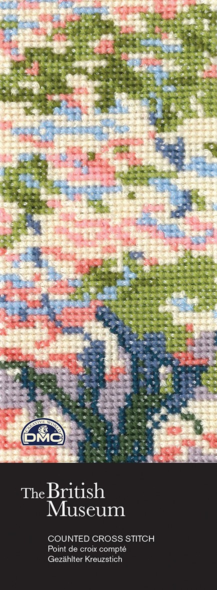 BL1150/73 - The British Museum - A Tree in Bloom Cross Stitch Bookmark Kit