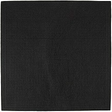 Rico Punched Felt Cushion To Cross Stitch - Black